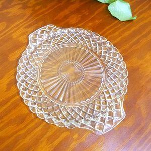 Vintage Glass Platter